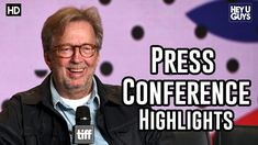 Eric Clapton | Life in 12 Bars | Press Conference Highlights | TIFF 2017