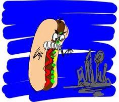 interference - Hotdogzilla terrorizes Townville