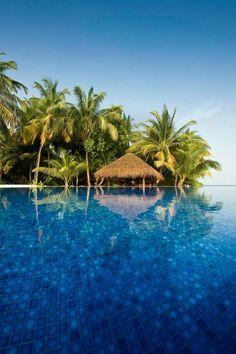 Kuramathi resort, maldive ka