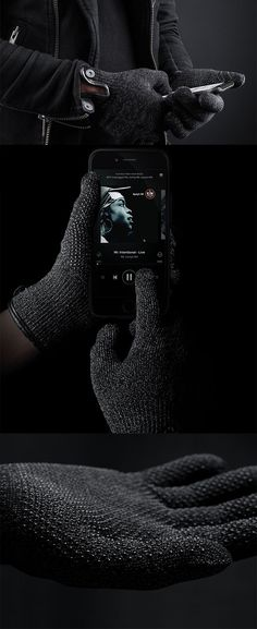 The Double Layered 'Touchscreen Gloves' are intelligent in their own right by being capacitive-sensitive, allowing you work your smartphones with incredible  dexterity while keeping those ten little fingers toasty warm... READ MORE at Yanko Design !
