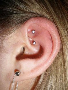 WANT! Rook piercing!