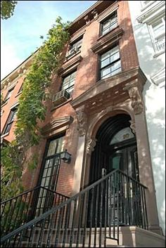 The house from The Cosby Show.  The show itself was set and filmed in Brooklyn, but the building used for exterior shots is located on Leroy Street in the West Village   #dkoffice