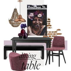 Dining table prjoect by szaboesz on Polyvore featuring interior, interiors, interior design, home, home decor, interior decorating, Carolina Chair, Currey & Company, Hervé Gambs and diningroom