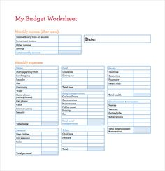 Capital Expenditure Budget Template Example Format 13 Excel Budget