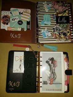 Louis Vuitton Desk Agenda and Chanel Personal Agenda