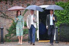 El acertado look con el Kate Middleton rindió tributo a Lady Di