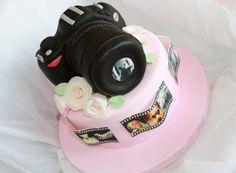 Camera cake. I am in love. Love.