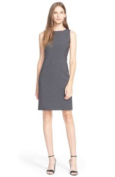 ed094a80e5314 Theory 'Betty.2B' Stretch Wool Sheath Dress available at #Nordstrom Work  Dresses