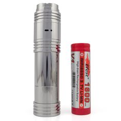 OLA X mod is a mechanical mod, which is available in 18650, 18500, 18350 versions. And it is made of stainless steel to give it a great finished look.