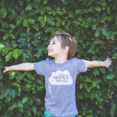 What a Wonderful World T-shirt  Earth Day Outfit  by PluckyMustard