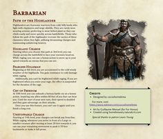 Dungeons And Dragons Rules, Dungeons And Dragons Homebrew, Dragon Rpg, Dragon Games, Barbarian Dnd, Dnd Stats, Create Your Own Adventure, Dnd Classes, Dungeon Master's Guide