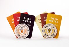 Field Notes - Drink Local Edition ALES / LAGERS