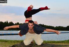 Acro dance,balance,yoga