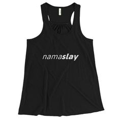 Namaslay tank www.bluebird-supply.com #yoga #fitness #slayit