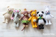 Cuddle Me Toys - Free Amigurumi Patterns