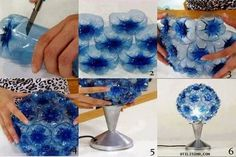 Every Coca-Cola Drinker Should Know these DIY Recycle Plastic Bottles Plastic Bottle Decoration, Plastic Bottle Flowers, Plastic Bottle Crafts, Recycle Plastic Bottles, Bottle Decorations, Plastic Recycling, Plastic Spoons, Recycled Bottles, Recycled Crafts