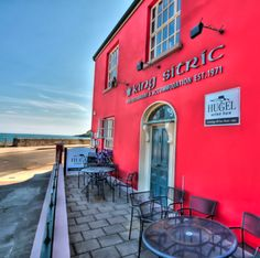 Howth, Ireland.  We plan to eat awsome seafood here.