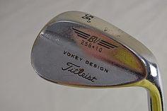 "Titleist 56° Wedge Vokey Design BV 256-10 Stainless Steel Shaft RH 36.5"" | Sporting Goods, Golf, Golf Clubs & Equipment | eBay!"