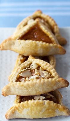 Apricot hamantaschen are a treat for Purim or anytime you want an easy, delicious, fruit-filled cookie | Mother Would Know