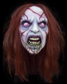 EXORCIST GIRL TALKING HEAD PUPPET Halloween Prop