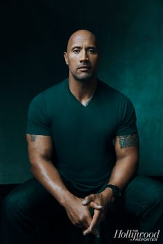 Exclusive Portraits of 'Hercules' Star Dwayne 'The Rock' Johnson at The Hollywood Reporter