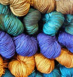 So many new yarns!   NorthCoast Knittery