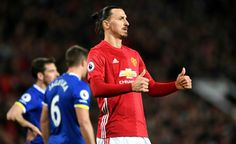 Premier League: Ibrahimovic rescues United against Everton Leicester win again