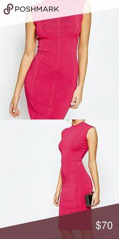 Ted baker dress Hot pink ted baker dress. Reposh Ted Baker Dresses Midi