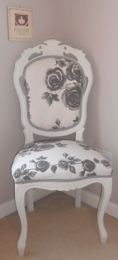 How to Re-Upholster A Chair! My summer project!!!