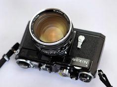 Black Nikon S rangefinder camera + 5cm f/1.1 Nikkor