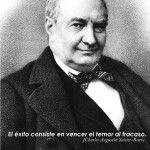 El éxito consiste en vencer el temor al fracaso. Charles-Augustin-Sainte-Beuve