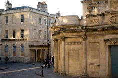 Cross Bath and Hetling Pump Room, round the corner to our offices