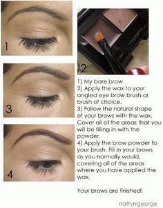 elf eyebrow kit tutorial. how to fill your brows step by using the elf eyebrow kit!   eyebrow, tutorials and makeup kit tutorial