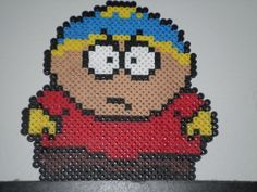 perler bead eric cartman by @Charles Powell