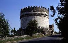 tomba cecilia metella, 30 a.C - via Appia Antica - Roma