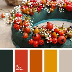 New House Paint Combinations Interior Gray Ideas Orange Color Palettes, Red Colour Palette, Colour Schemes, Color Combos, Color Patterns, Red Color, Christmas Palette, Christmas Colors, Paint Combinations