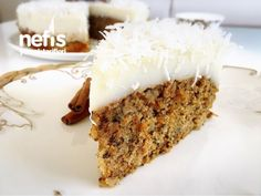 Havuçlu Cevizli Pasta Ham, Banana Bread, Muffin, Food And Drink, Cookies, Desserts, Recipes, Bakken, Crack Crackers