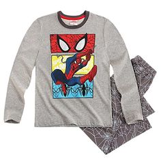 Spider-Man Long Sleeve Pyjama - grey - 5 yrs Spiderman http://www.amazon.co.uk/dp/B01101BP24/ref=cm_sw_r_pi_dp_n0Ywwb14DRNN5