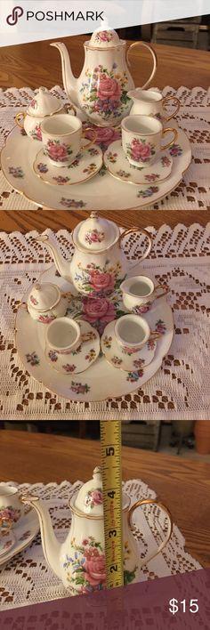 Spotted while shopping on Poshmark: Miniature Tea Set 🌸🌺! #poshmark #fashion #shopping #style #Price to sell #Other