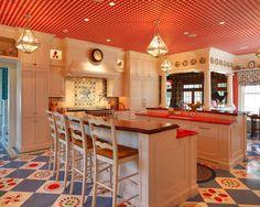 Home Design, Pictures, Remodel, Decor And Ideas   Page 81 ·  KüchenfarbenRote KücheDeko TischIdeen Für Die ...
