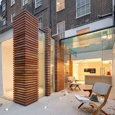 ...---=== Designed by local studio DOSarchitects, the extension provides a new bedroom, kitchen and living room at the rear of the listed terrace in Islington.