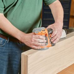 How To Build Floating Shelves (DIY) | Family Handyman Floating Shelves Diy, Wood Shelves, Shelving, Hanging Shelves, Woodworking Techniques, Woodworking Tips, Sanding Wood, Oak Plywood, Wood Putty