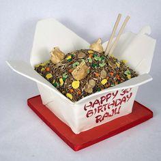 Chinese Take out Cake Art