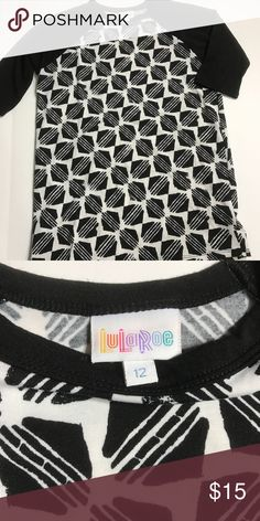 LuLaRoe Sloan Excellent condition. Worn & washed once per LLR guidelines. LuLaRoe Shirts & Tops