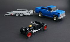 Lego 75875 Rewound - 01 - # 75875 - - Decoration and Outfits Lego Cars, Lego Truck, Lego Auto, Tow Truck, Lego Technic, Legos, Technique Lego, Cool Things To Build, Pick Up 4x4