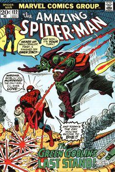 Marvel Retro - Spider-Man vs Green Goblin poster
