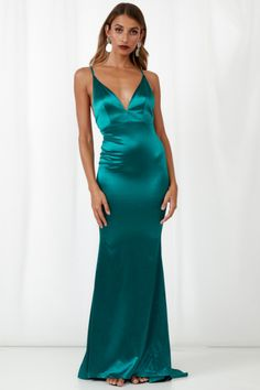 095874f2e0 Test Of Time Maxi Dress Green | Hello Molly | Hello Molly USA