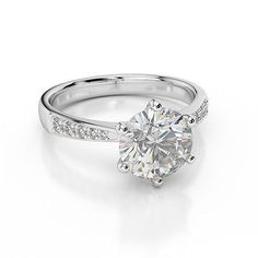#Priceabate 1.00CT Three Stone 3 Diamond Ring 14K White Gold - Buy This Item Now For Only: $399.99
