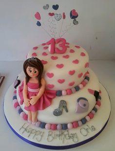 bithday cake 13th Birthday Cakes for Girls Girls 13th