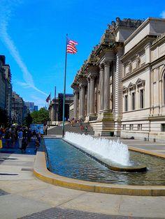 The beautiful Metropolitan Museum of Art, NYC